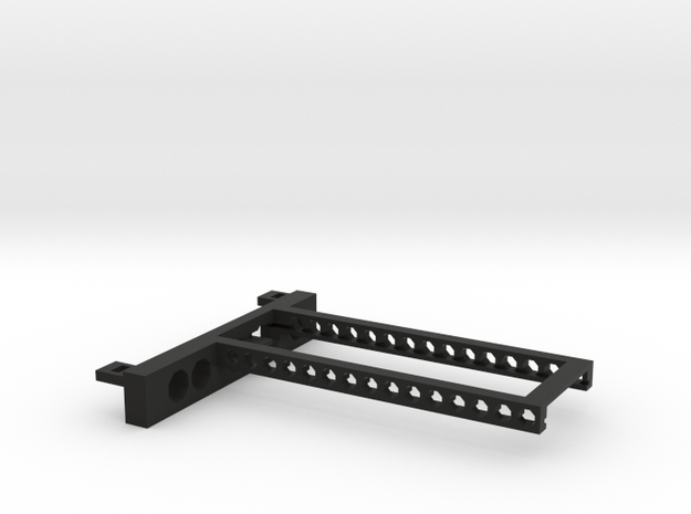 G751 M.2 Bracket With Holes 2 drives open top in Black Natural Versatile Plastic
