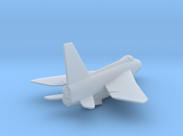 RAF Lightning Rescaled 1to400 in Smooth Fine Detail Plastic