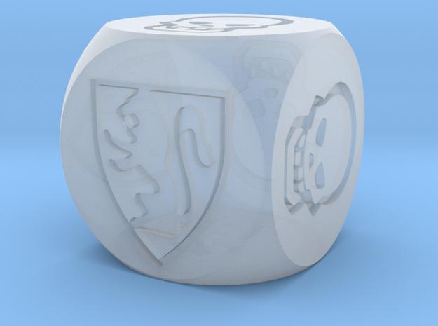 HeroQuest Die (13mm) in Smoothest Fine Detail Plastic