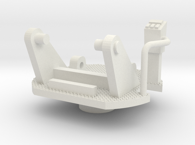 scope turntable in White Natural Versatile Plastic