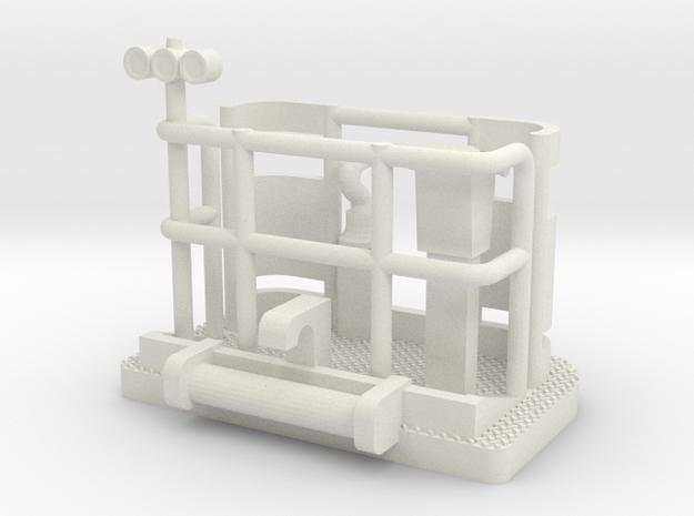 Scope Basket in White Natural Versatile Plastic