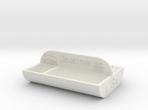Armada Victory Token Tray in White Natural Versatile Plastic