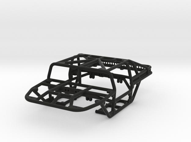 Scorpion - T 1/24th scale rock crawler chassis in Black Natural Versatile Plastic