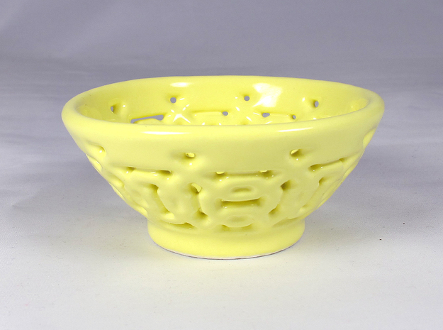 Bowl Fixed Pattern D 3d printed