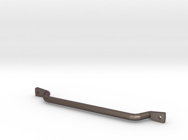 1/10 scale CJ-7 passenger grab bar in Polished Bronzed Silver Steel