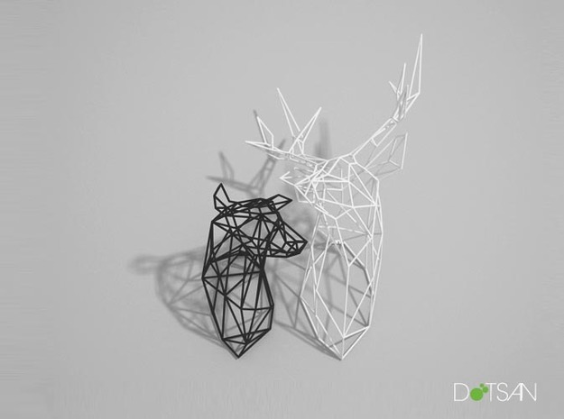 Wired Life Doe Large Facing Left 3d printed