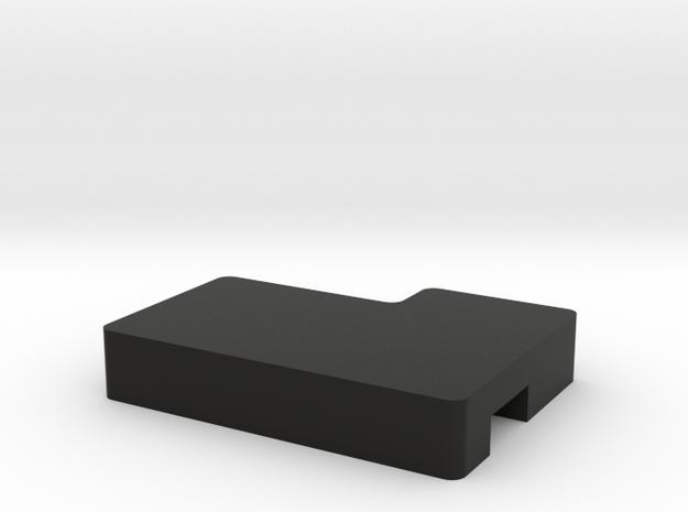 Left X1 Wedge in Black Natural Versatile Plastic