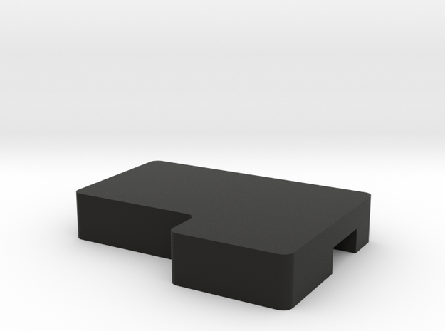 Right X1 Wedge in Black Natural Versatile Plastic