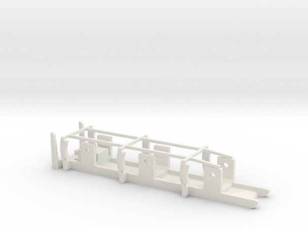 FR / Cambrian Tender - 00 Chassis in White Natural Versatile Plastic