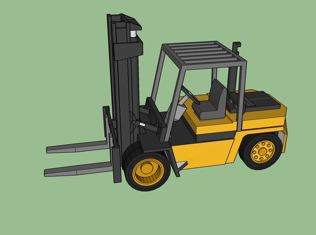 N Boss H70 Forklift 2 Pack in Smooth Fine Detail Plastic