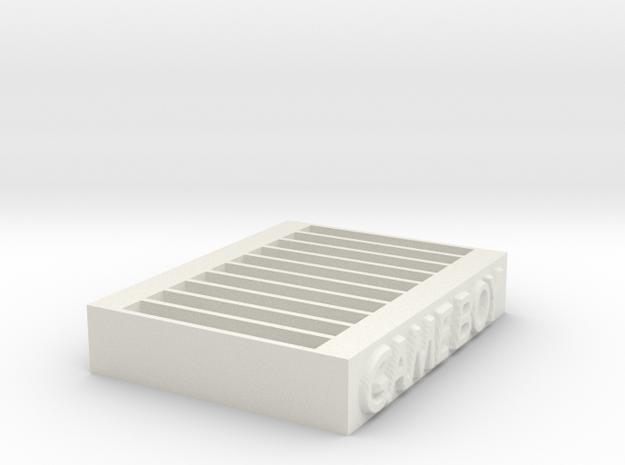 Game Boy Game Organizer in White Natural Versatile Plastic
