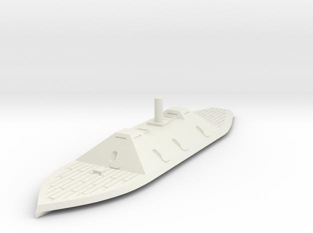 1/600 CSS Fredericksburg  in White Natural Versatile Plastic