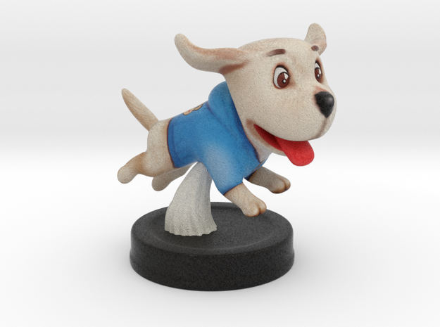Puppies Out - Labrador in Full Color Sandstone