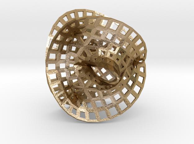 Fermat Space 2 in Polished Gold Steel