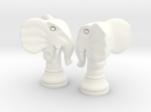 Pair Chess Elephant Big / Timur Pil Phil