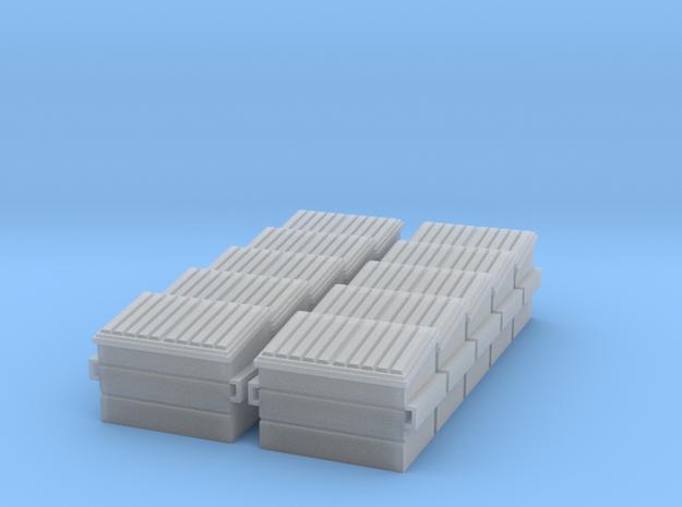 Dumpster (N - 1:160) 10X in Smoothest Fine Detail Plastic