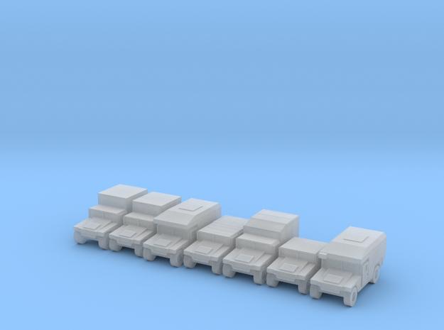 1/350 Humvee HMMWV 7 types