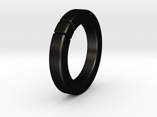 Caleb - Ring - US 6¾ - 17.12 mm 3d printed