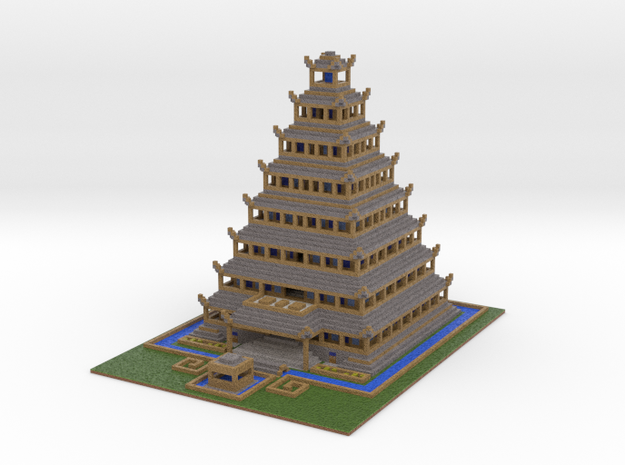 Temple Of The Moon Simple 3d printed