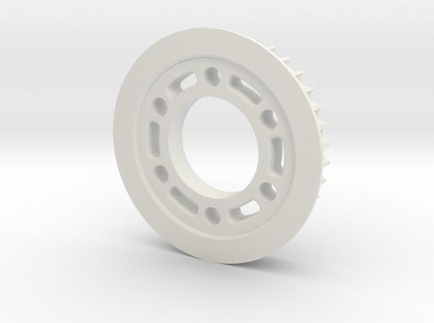 MRB 5 Riemenrad Hinten 36Z 5mm Riemen in White Natural Versatile Plastic