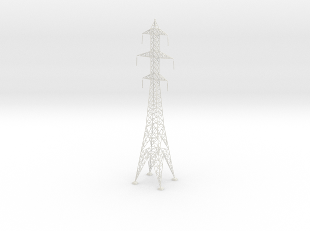 Powerline tower01. HO Scale (1:87)