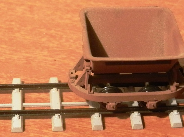 Victoria Mill Concrete Sleepers 3d printed
