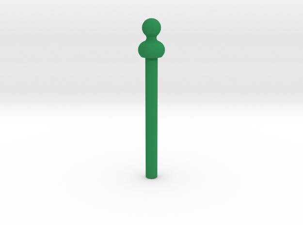 11's Sonic Screwdriver; Green Tip in Green Processed Versatile Plastic