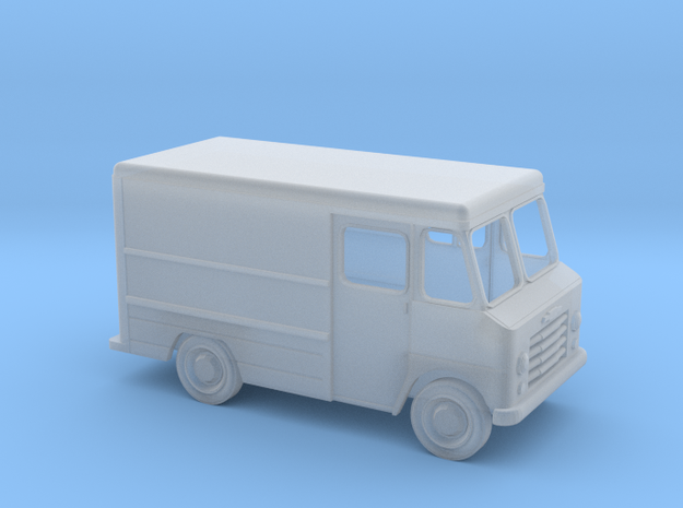 N-Scale (1/160) '60s Chevy Step Van W/Open Windows in Smooth Fine Detail Plastic