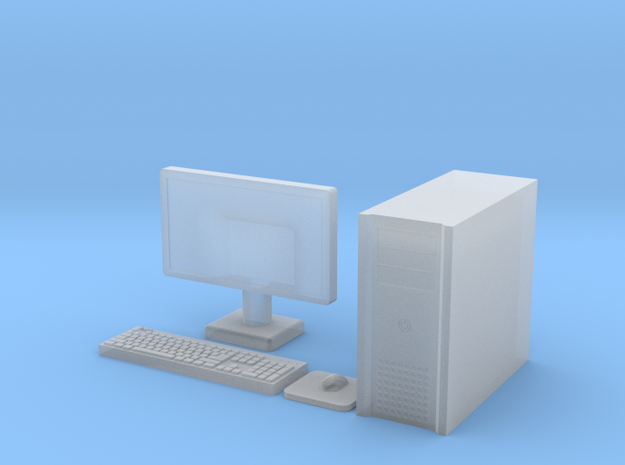 1:35 Scale PC in Frosted Ultra Detail