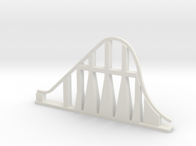 Millennium Force Roller Coaster in White Strong & Flexible