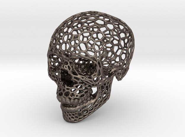 Voronoi Skeletonized Skull