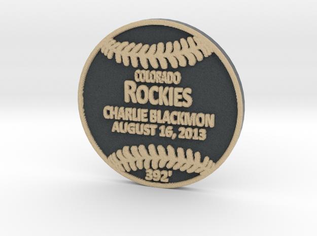 Charlie Blackmon in Full Color Sandstone