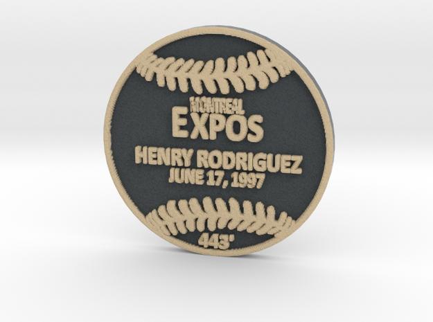 Henry Rodriguez in Full Color Sandstone