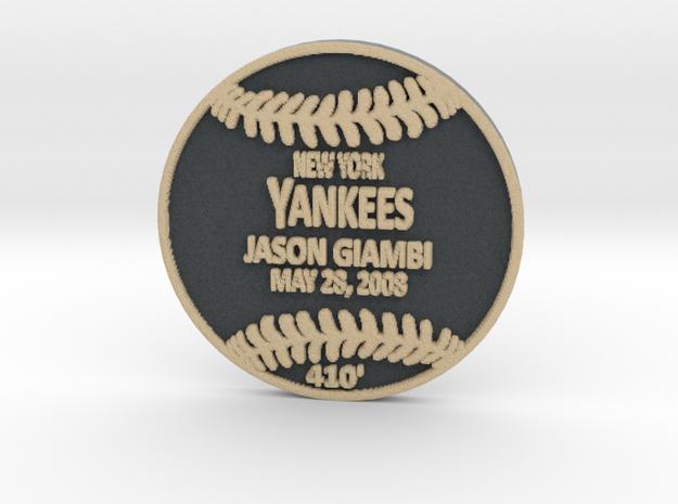 Jason Giambi3 in Full Color Sandstone