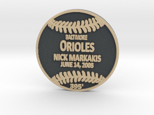 Nick Markakis in Full Color Sandstone