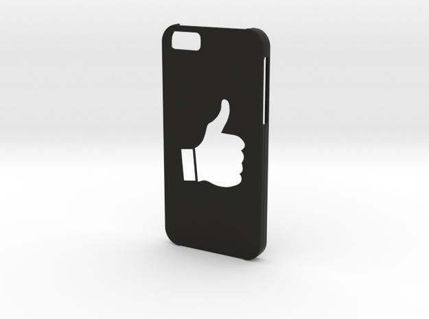 Iphone 6 Thumbs up case in Black Natural Versatile Plastic