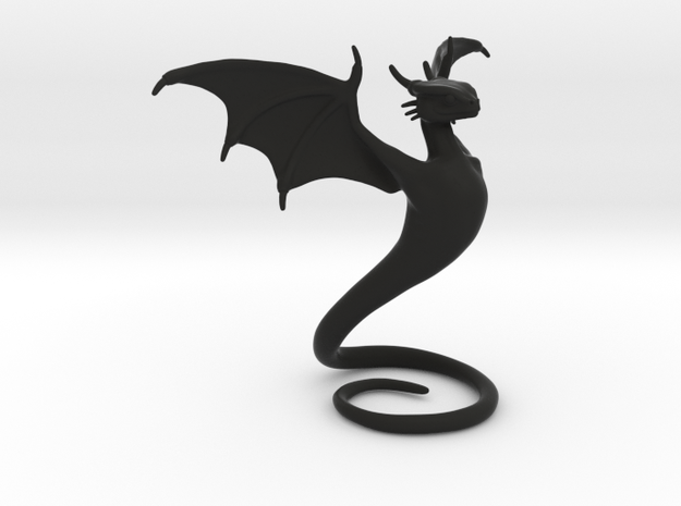 Desk Dragon in Black Strong & Flexible