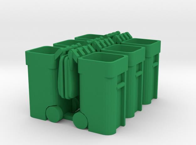 Trash Cart (6) Open - 'O' 48:1 Scale