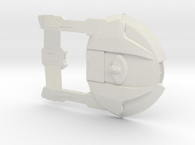 steamrunner 2500 in White Natural Versatile Plastic