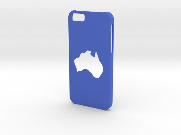 Iphone 6 Australia Case in Blue Processed Versatile Plastic