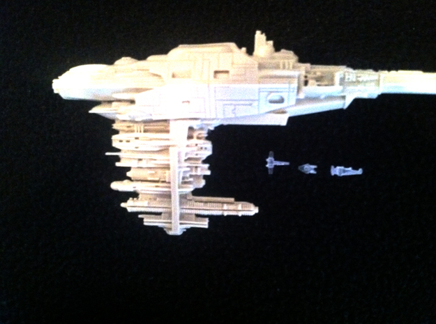 1/2256 A-Wing x24 3d printed