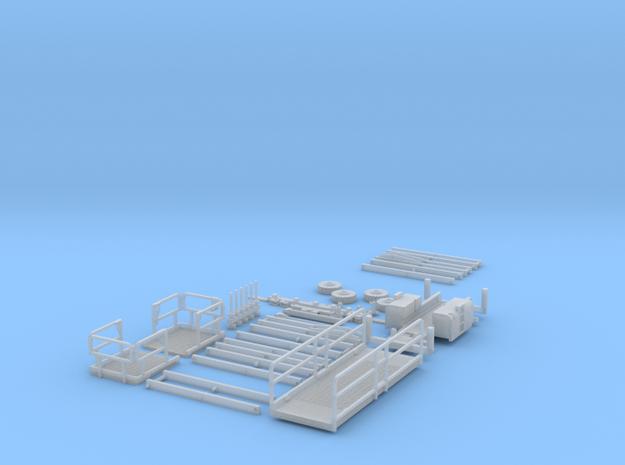 HO/1:87 Aerial working platform 2 kit 3d printed