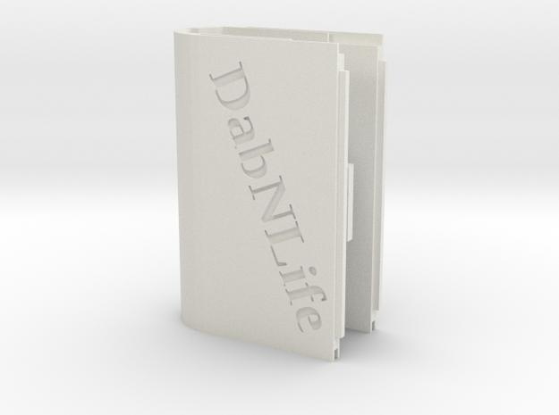 Dabnlife Dna200 C-frame Shell in White Natural Versatile Plastic