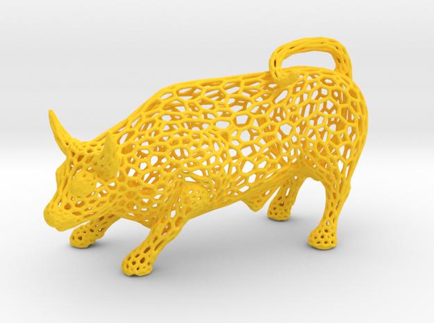 Pierced Torus 100 in Yellow Processed Versatile Plastic