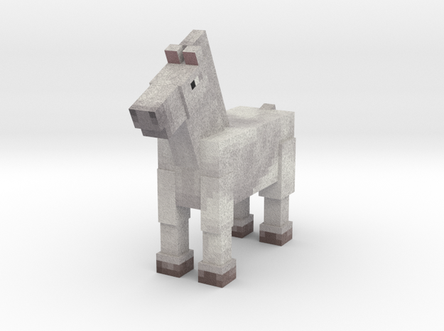 Horse 015 in Full Color Sandstone