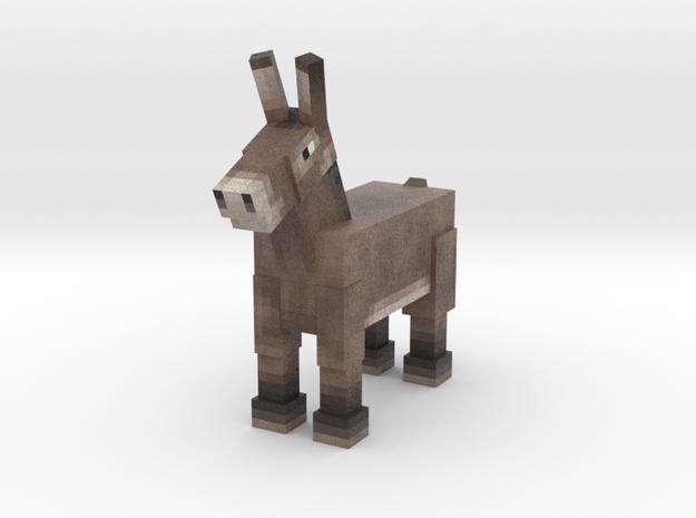 Donkey in Full Color Sandstone