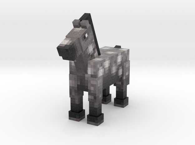 Horse 030 in Full Color Sandstone