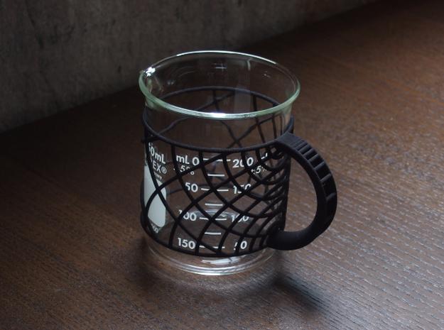 Ripple Handle for 250mL Beaker 3d printed