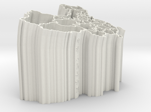 vase Of China - 3D in White Strong & Flexible