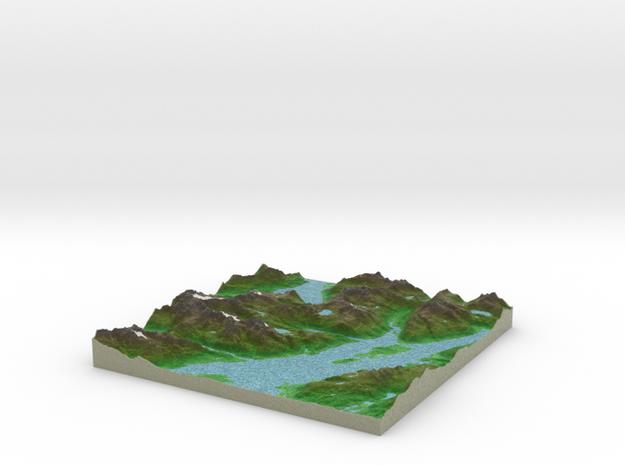 Terrafab generated model Fri Jul 17 2015 01:25:53  in Full Color Sandstone